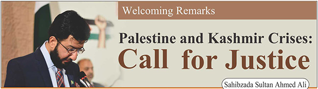 Palestine and Kashmir Crises : Call for Justice